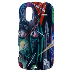 Graffiti Art Urban Design Paint  HTC Amaze 4G Hardshell Case