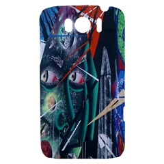 Graffiti Art Urban Design Paint  HTC Sensation XL Hardshell Case