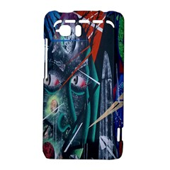 Graffiti Art Urban Design Paint  HTC Vivid / Raider 4G Hardshell Case