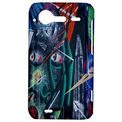 Graffiti Art Urban Design Paint  HTC Incredible S Hardshell Case