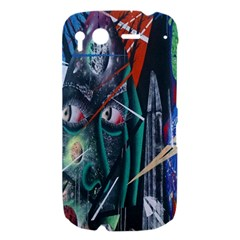 Graffiti Art Urban Design Paint  HTC Desire S Hardshell Case