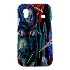 Graffiti Art Urban Design Paint  Samsung Galaxy Ace S5830 Hardshell Case