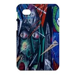 Graffiti Art Urban Design Paint  Samsung Galaxy Tab 7  P1000 Hardshell Case