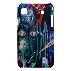 Graffiti Art Urban Design Paint  Samsung Galaxy S i9008 Hardshell Case