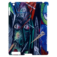 Graffiti Art Urban Design Paint  Apple iPad 2 Hardshell Case (Compatible with Smart Cover)