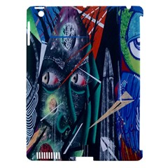 Graffiti Art Urban Design Paint  Apple iPad 3/4 Hardshell Case (Compatible with Smart Cover)