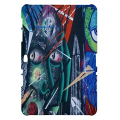 Graffiti Art Urban Design Paint  Samsung Galaxy Tab 10.1  P7500 Hardshell Case