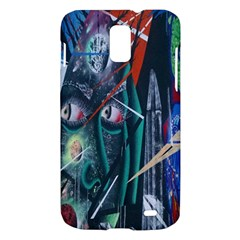 Graffiti Art Urban Design Paint  Samsung Galaxy S II Skyrocket Hardshell Case