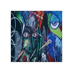 Graffiti Art Urban Design Paint  Acrylic Tangram Puzzle (4  x 4 )