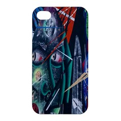 Graffiti Art Urban Design Paint  Apple iPhone 4/4S Premium Hardshell Case