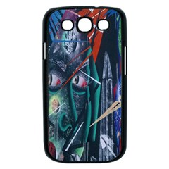 Graffiti Art Urban Design Paint  Samsung Galaxy S III Case (Black)