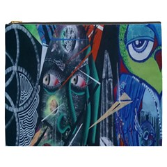 Graffiti Art Urban Design Paint  Cosmetic Bag (XXXL)