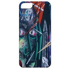Graffiti Art Urban Design Paint  Apple iPhone 5 Classic Hardshell Case