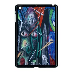 Graffiti Art Urban Design Paint  Apple iPad Mini Case (Black)
