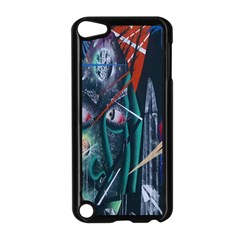Graffiti Art Urban Design Paint  Apple iPod Touch 5 Case (Black)