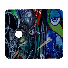 Graffiti Art Urban Design Paint  Samsung Galaxy S  III Flip 360 Case