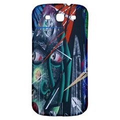 Graffiti Art Urban Design Paint  Samsung Galaxy S3 S III Classic Hardshell Back Case