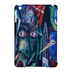 Graffiti Art Urban Design Paint  Apple iPad Mini Hardshell Case (Compatible with Smart Cover)