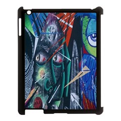 Graffiti Art Urban Design Paint  Apple iPad 3/4 Case (Black)