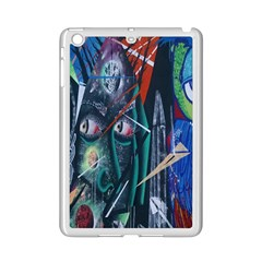 Graffiti Art Urban Design Paint  iPad Mini 2 Enamel Coated Cases