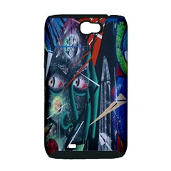Graffiti Art Urban Design Paint  Samsung Galaxy Note 2 Hardshell Case (PC+Silicone)