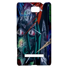 Graffiti Art Urban Design Paint  HTC 8S Hardshell Case