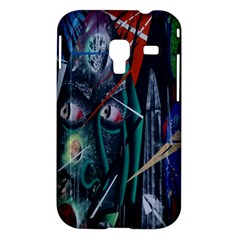 Graffiti Art Urban Design Paint  Samsung Galaxy Ace Plus S7500 Hardshell Case