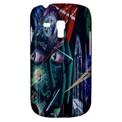 Graffiti Art Urban Design Paint  Samsung Galaxy S3 MINI I8190 Hardshell Case
