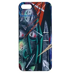 Graffiti Art Urban Design Paint  Apple iPhone 5 Hardshell Case with Stand