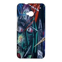 Graffiti Art Urban Design Paint  HTC One M7 Hardshell Case