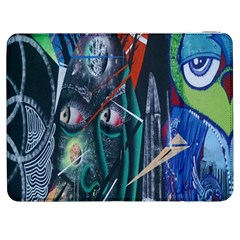 Graffiti Art Urban Design Paint  Samsung Galaxy Tab 7  P1000 Flip Case