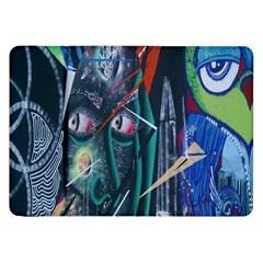 Graffiti Art Urban Design Paint  Samsung Galaxy Tab 8.9  P7300 Flip Case