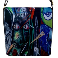 Graffiti Art Urban Design Paint  Flap Messenger Bag (S)