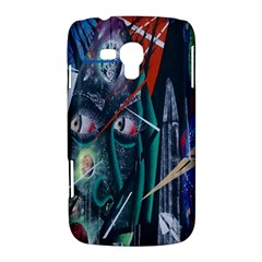 Graffiti Art Urban Design Paint  Samsung Galaxy Duos I8262 Hardshell Case