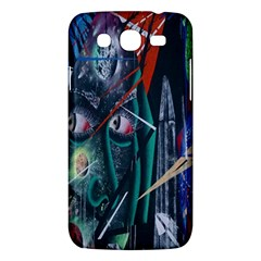 Graffiti Art Urban Design Paint  Samsung Galaxy Mega 5.8 I9152 Hardshell Case