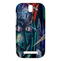 Graffiti Art Urban Design Paint  HTC One SV Hardshell Case