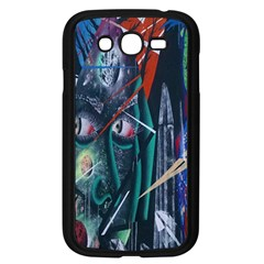 Graffiti Art Urban Design Paint  Samsung Galaxy Grand DUOS I9082 Case (Black)