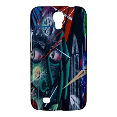 Graffiti Art Urban Design Paint  Samsung Galaxy Mega 6.3  I9200 Hardshell Case