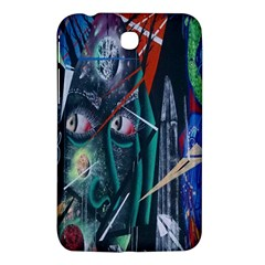 Graffiti Art Urban Design Paint  Samsung Galaxy Tab 3 (7 ) P3200 Hardshell Case