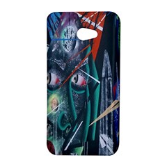 Graffiti Art Urban Design Paint  HTC Butterfly S/HTC 9060 Hardshell Case