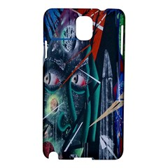 Graffiti Art Urban Design Paint  Samsung Galaxy Note 3 N9005 Hardshell Case