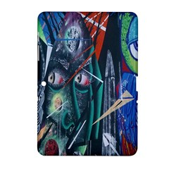 Graffiti Art Urban Design Paint  Samsung Galaxy Tab 2 (10.1 ) P5100 Hardshell Case