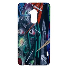 Graffiti Art Urban Design Paint  HTC One Max (T6) Hardshell Case