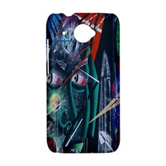 Graffiti Art Urban Design Paint  HTC Desire 601 Hardshell Case