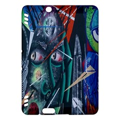 Graffiti Art Urban Design Paint  Kindle Fire HDX Hardshell Case