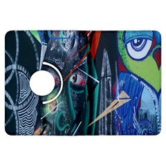 Graffiti Art Urban Design Paint  Kindle Fire HDX Flip 360 Case