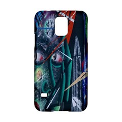 Graffiti Art Urban Design Paint  Samsung Galaxy S5 Hardshell Case