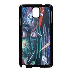 Graffiti Art Urban Design Paint  Samsung Galaxy Note 3 Neo Hardshell Case (Black)