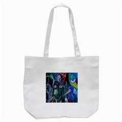 Graffiti Art Urban Design Paint  Tote Bag (White)