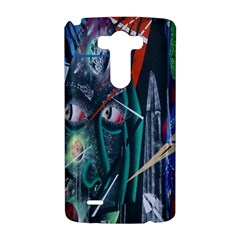 Graffiti Art Urban Design Paint  LG G3 Hardshell Case